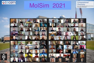 MolSim2021 screenshot